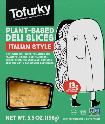 Tofurky Meatless Italian Deli Slices Perspective: front