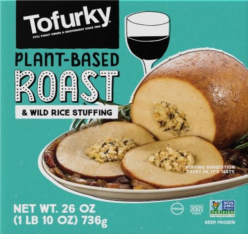 Tofurky Vegetarian Roast Perspective: front