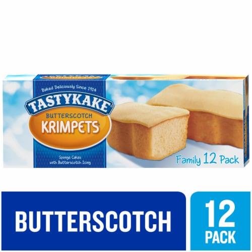 Tastykake Butterscotch Krimpets Sponge Cakes Perspective: front
