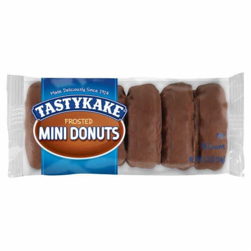 Tastykake Frosted Mini Donuts Perspective: front