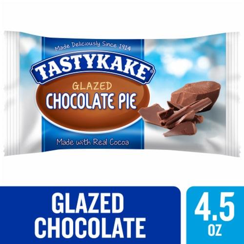 Tastykake Glazed Chocolate Pie Perspective: front