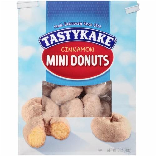 Tastykake Cinnamon Mini Donuts Perspective: front