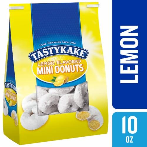 Tastykake Lemon Mini Donuts Perspective: front