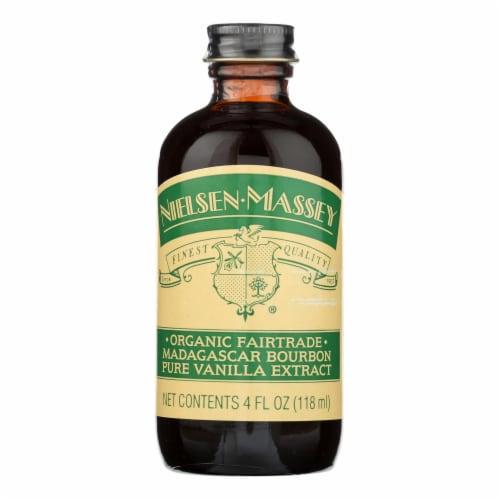 Nielsen-Massey Vanillas Inc Organic Madagascar Bourbon Pure Vanilla Extract Perspective: front