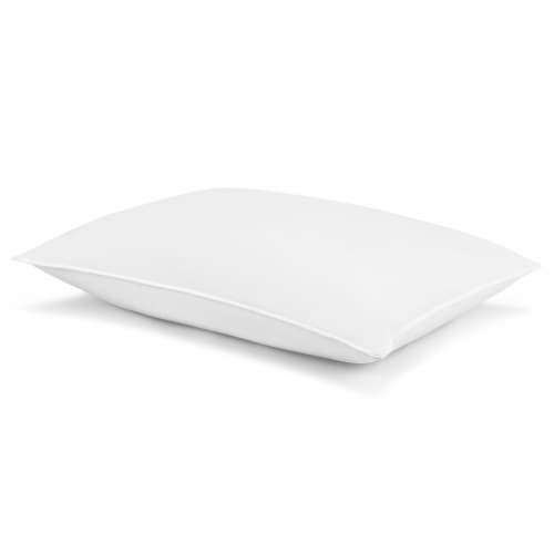 Beautyrest® Jumbo Fresh Tech Antimicrobial PolyesterSelf-Sanitizing Pillow Perspective: front