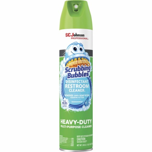 Scrubbing Bubbles Cleaner,Disinfectant,Wh 313358EA Perspective: front