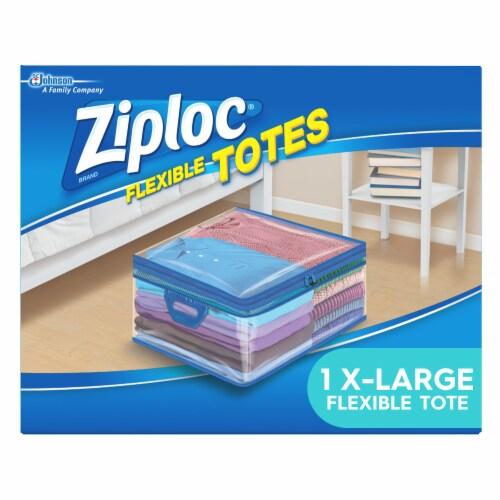 Ziploc® Flexible Totes 10 Gallon Storage Bag Perspective: front
