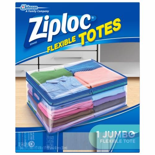 Ziploc Flexible Totes Jumbo Organizer Perspective: front