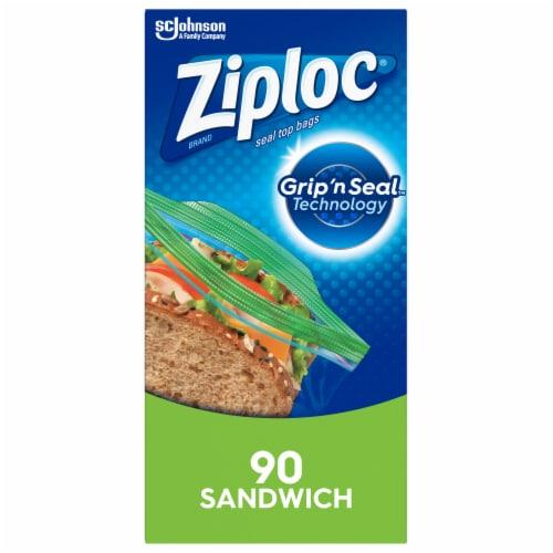 Ziploc Sandwich Bags Perspective: front