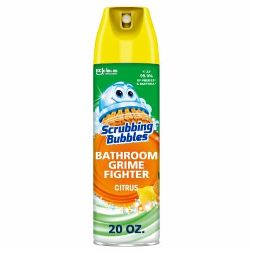 Scrubbing Bubbles Citrus Bathroom Grime Fighter Perspective: front