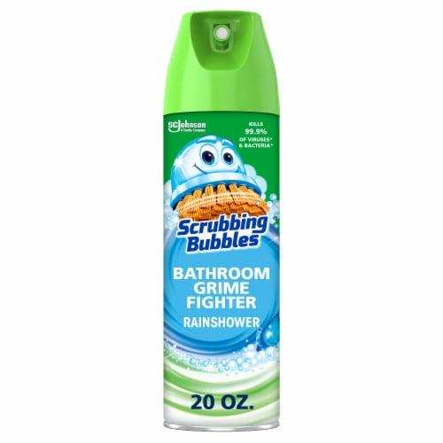 Scrubbing Bubbles Rainshower Bathroom Grime Fighter Perspective: front