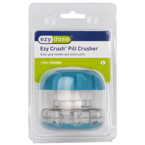 EZY Dose Pill Crusher Perspective: front