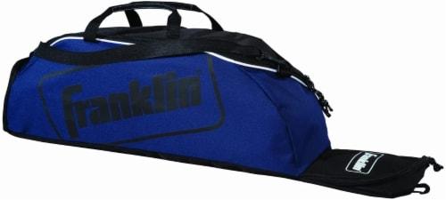 Franklin Junior Equipment Bag - Blue Perspective: front