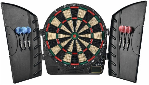Franklin FS3000 Electronic Dartboard Perspective: front