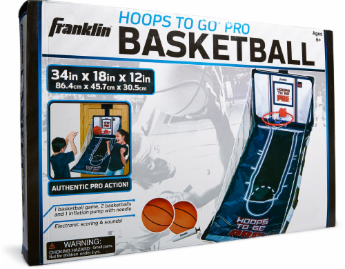 Franklin Hoops To Go Pro Basketball Over-the-Door Game Perspective: front