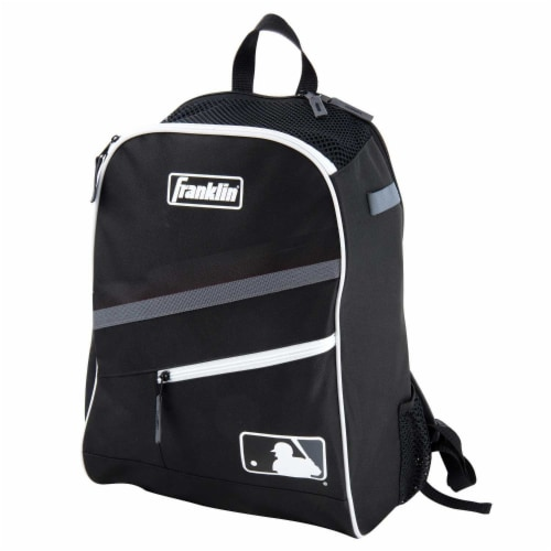 Franklin MLB Bat Pack - Black/Gray Perspective: front