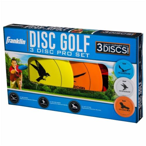 Franklin Disc Golf Set - Multi Perspective: front