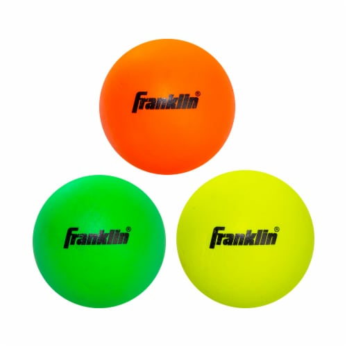 Franklin Youth Lacrosse Balls - 3 Pack Perspective: front