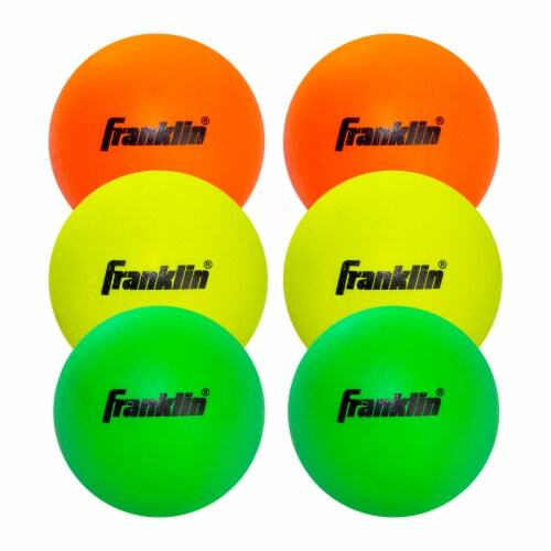 Franklin Youth Lacrosse Balls Perspective: front