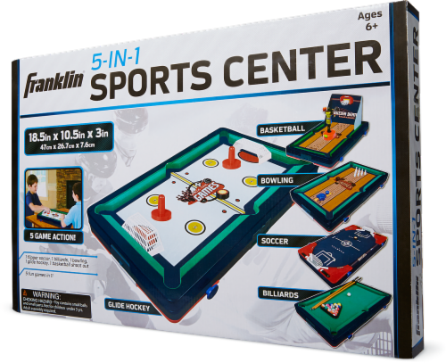 Franklin 5-in-1 Sports Center Table Game Perspective: front