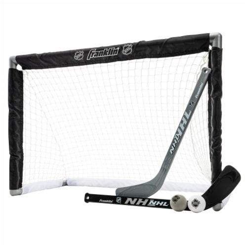 Franklin NHL Mini Hockey Goal Set Perspective: front