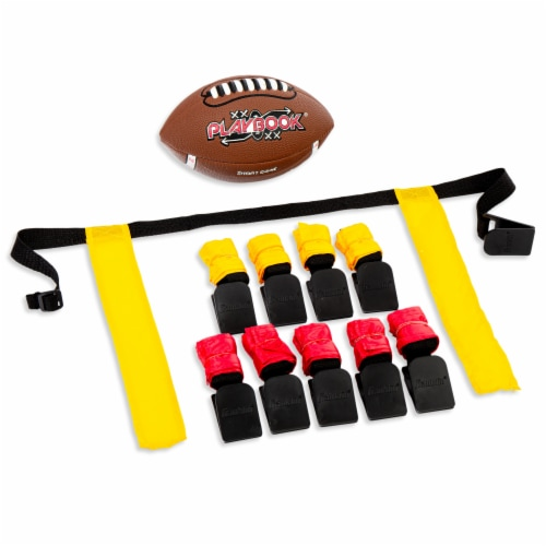 Franklin Playbook Mini Flag Football Set Perspective: front