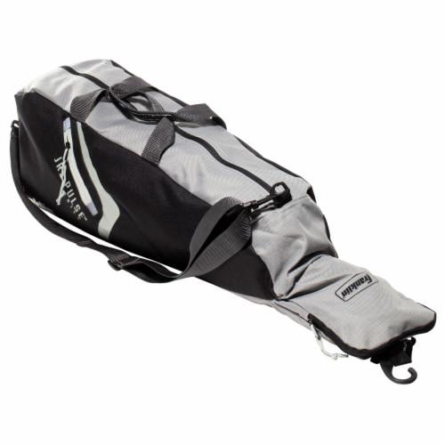 Franklin Junior Equipment Bag - Black/Gray Perspective: front