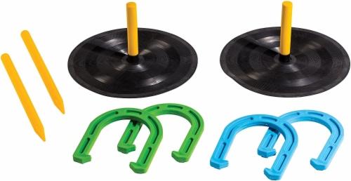 Franklin® Rubber Horseshoe Set Perspective: front