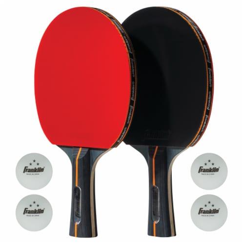 Franklin Pro Carbon Core Table Tennis Set Perspective: front