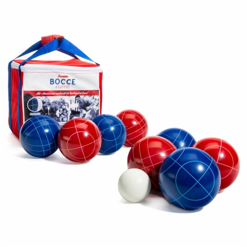 Franklin Bocce 4 Player Set - Red/White/Blue Perspective: front