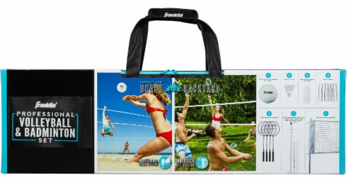 Franklin Professional Volleyball and Badminton Set Perspective: front