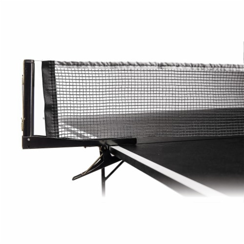 Franklin Table Tennis Net - Black Perspective: front