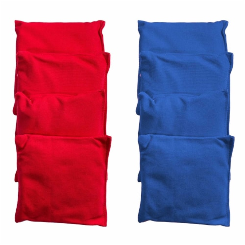 Franklin® Red & Blue Cornhole Bags with Carry Bag Perspective: front