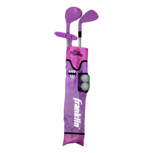 Franklin Future Champs Golf Set - Pink Perspective: front
