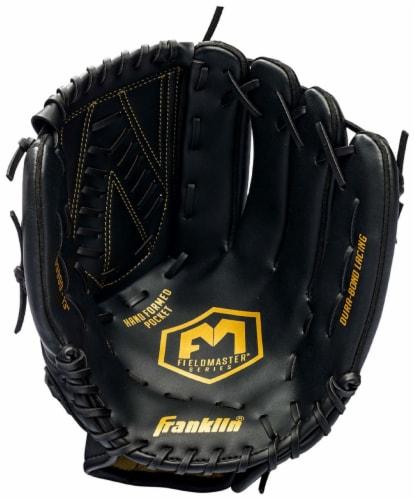 Franklin Field Master Midnight Series Baseball Glove - Black Perspective: front