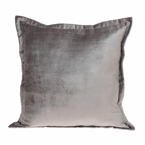 Parkland Collection Agneta Transitional Taupe Throw Pillow Perspective: front