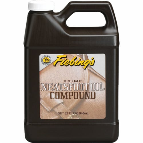 Fiebing's 32 Oz. Neatsfoot Prime Oil Compound Leather Care PNOC00P032Z Perspective: front