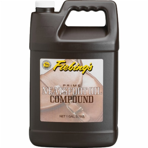 Fiebing's 1 Gal. Neatsfoot Prime Oil Compound Leather Care PNOC00P001G Perspective: front