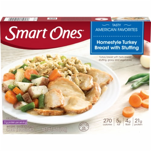 Smart Ones Homestyle Turkey Breast With Stuffing Perspective: front
