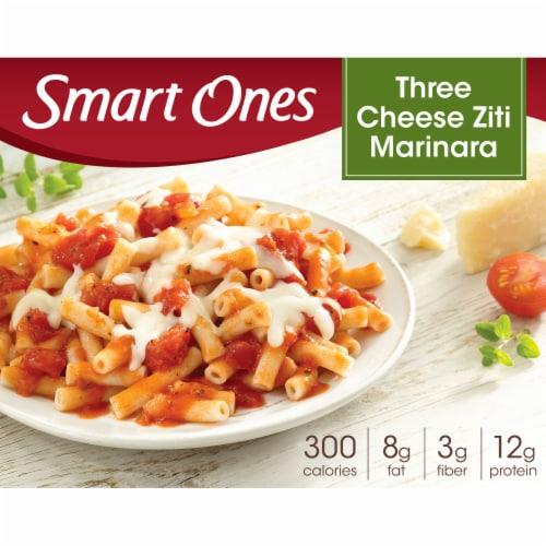 Smart Ones Savory Italian Recipes Three Cheese Ziti Marinara Perspective: front