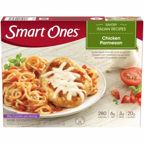 Smart Ones Savory Italian Recipes Chicken Parmesan Perspective: front
