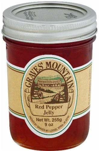 Graves' Mountain Red Pepper Jelly Perspective: front