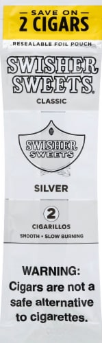 Swisher Sweets Classic Silver Cigarillos Perspective: front