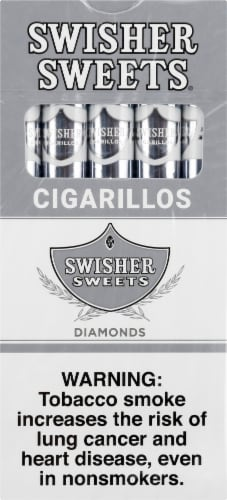 Swisher Sweets Diamonds Cigarillos Perspective: front
