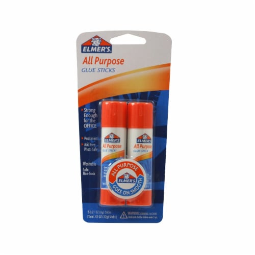 Elmer's All Purpose Glue Stick Perspective: front