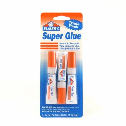 Elmer's Super Glue Perspective: front