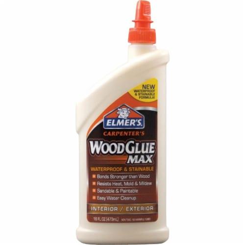 Elmer's® Glue Carpenter's Wood Glue Max Interior / Exterior Wood Glue - Beige Perspective: front