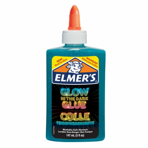 Elmer's® Blue Glow In The Dark Glue Perspective: front
