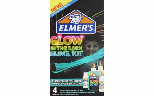 Elmer's Glow in the Dark Slime Kit - Blue Perspective: front