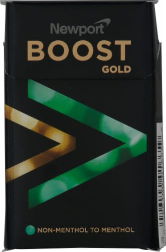 Newport Boost Gold Cigarettes Perspective: front